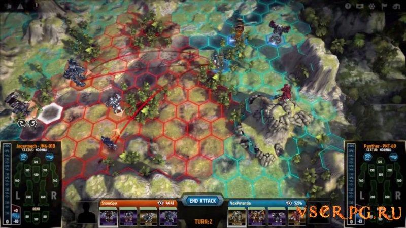 MechWarrior Tactics screen 1