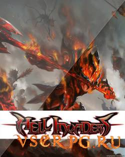 Постер игры Hell Invaders