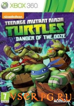 Постер игры Teenage Mutant Ninja Turtles: Danger of the Ooze