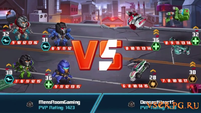 Transformers Battle Tactics screen 3