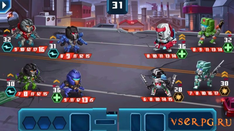 Transformers Battle Tactics screen 2