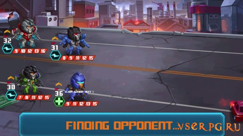 Transformers Battle Tactics screen 1