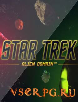 Постер игры Star Trek Alien Domain