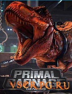 Постер игры Primal Carnage Genesis