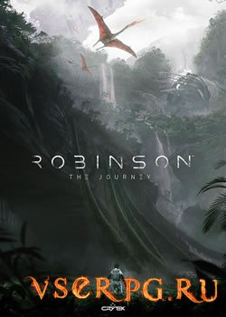 Постер игры Robinson The Journey