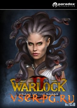 Постер игры Warlock 2: Wrath of the Nagas