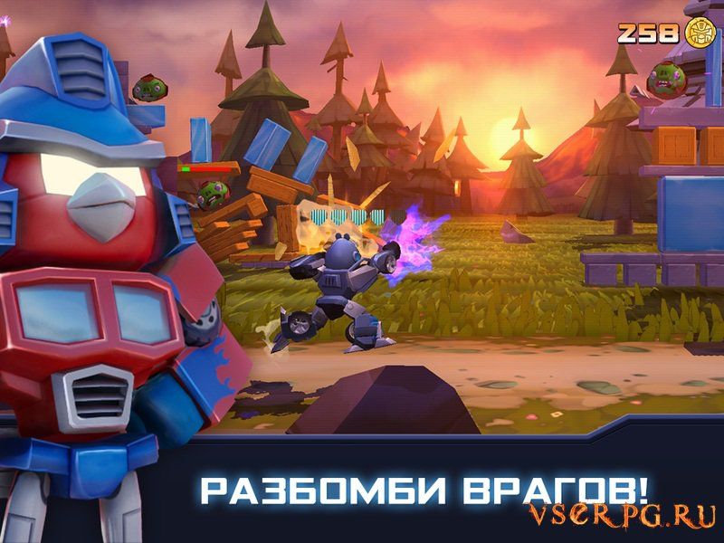 Angry Birds Transformers screen 3