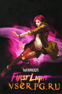 Постер игры inFamous First Light