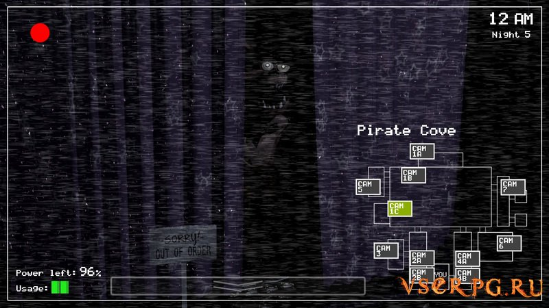 Five Nights at Freddy's 1 screen 1