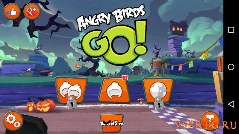 Angry Birds Go screen 1