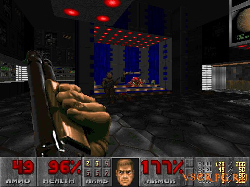 Doom 1 screen 1