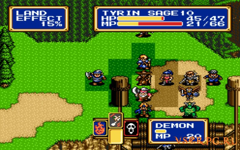 Shining Force 2 screen 2