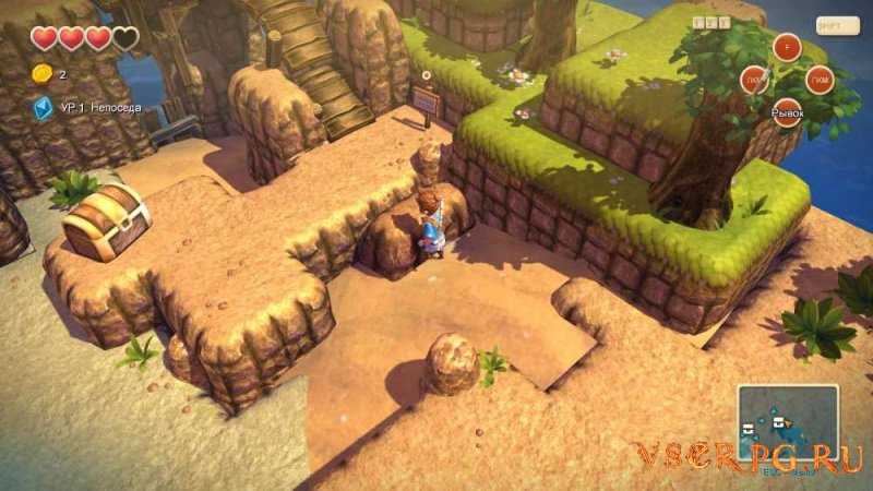 Oceanhorn: Monster of Uncharted Seas screen 2