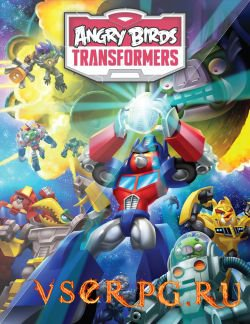 Постер игры Angry Birds Transformers