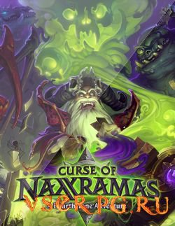 Постер игры Hearthstone: Проклятие Наксрамаса