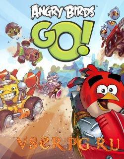 Постер игры Angry Birds Go