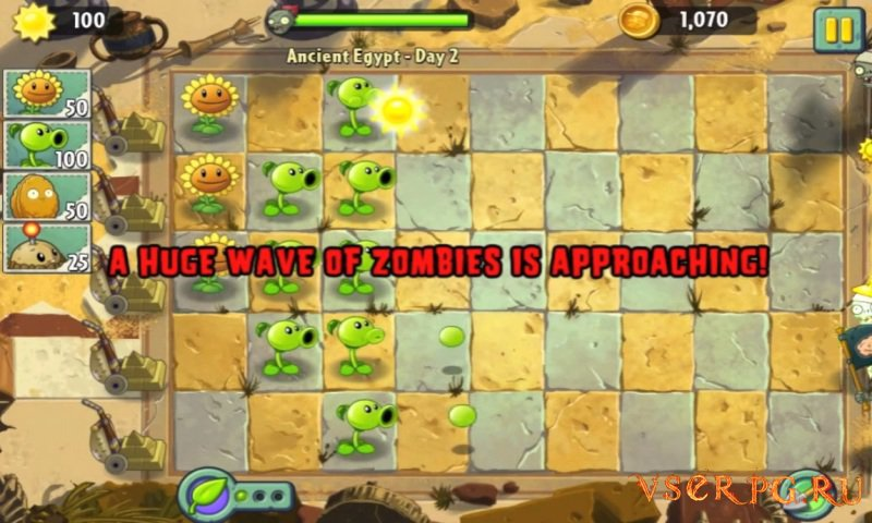 Plants vs Zombies 2: It's About Time screen 3