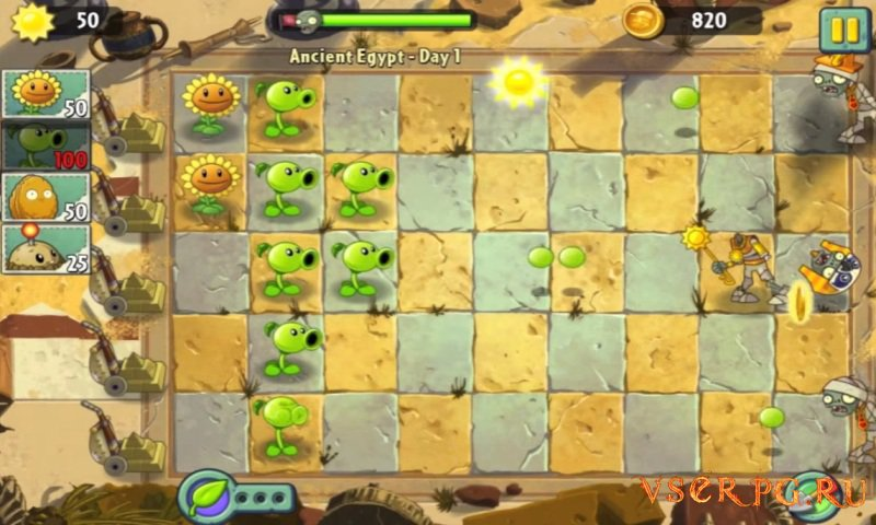 Plants vs Zombies 2: It's About Time screen 1