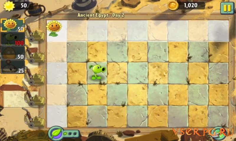 Plants vs Zombies 2: It's About Time screen 2
