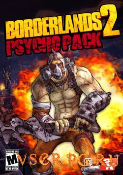 Постер игры Borderlands 2: Psycho Pack