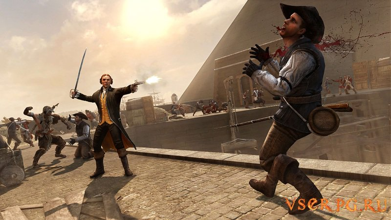 Assassin's Creed 3: The Tyranny of King Washington The Redemption screen 2