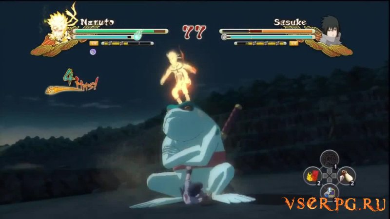 Naruto Shippuden: Ultimate Ninja Storm 3 screen 1
