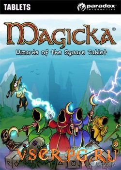 Постер игры Magicka: Wizards of the Square Tablet