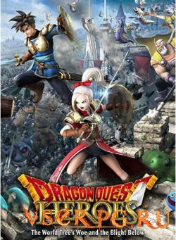 Постер игры Dragon Quest Heroes
