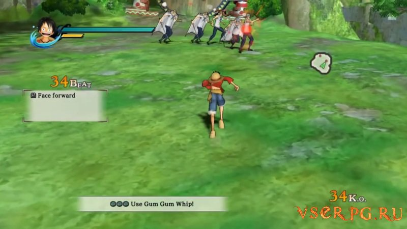 One Piece: Pirate Warriors screen 1