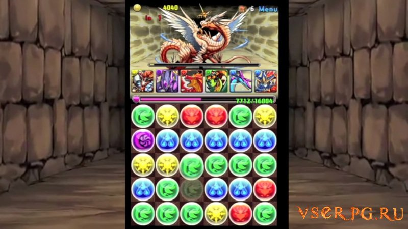 Puzzle & Dragons screen 1
