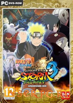 Постер игры Naruto Shippuden: Ultimate Ninja Storm 3