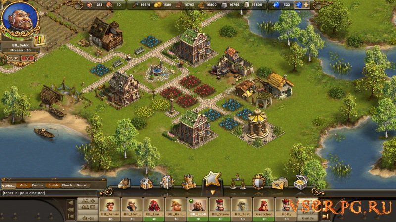 The Settlers Online screen 3