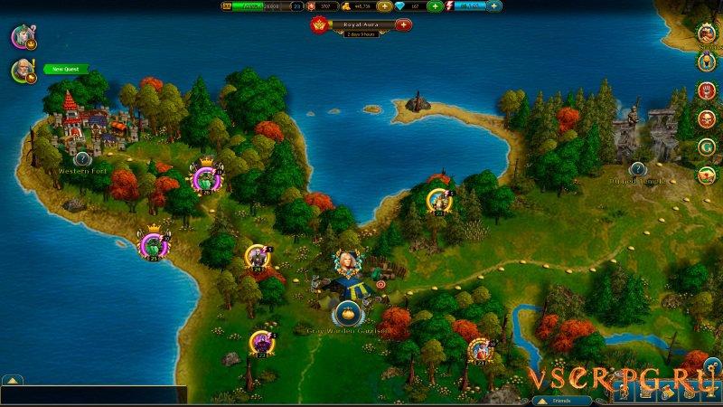 King's Bounty Legions screen 1