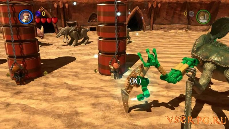 LEGO Star Wars III: The Clone Wars screen 1