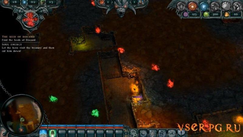 Dungeons 1 screen 2