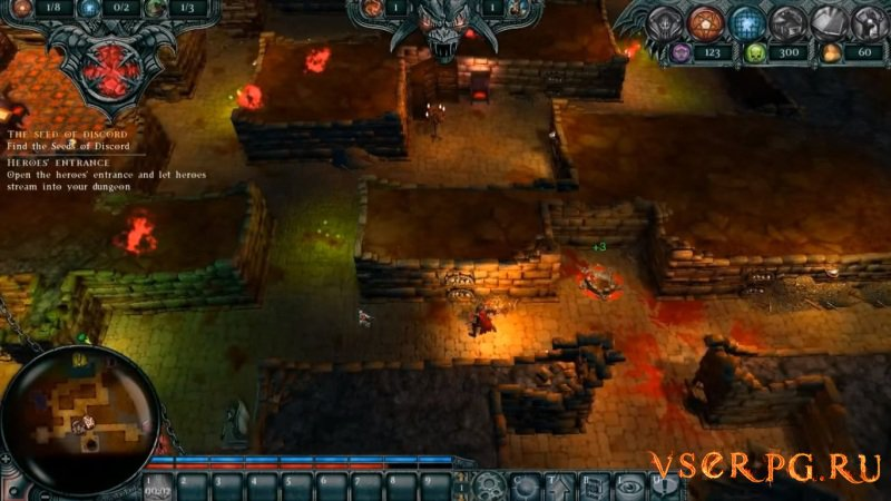 Dungeons 1 screen 3