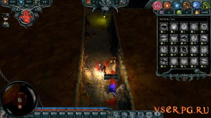 Dungeons 1 screen 1