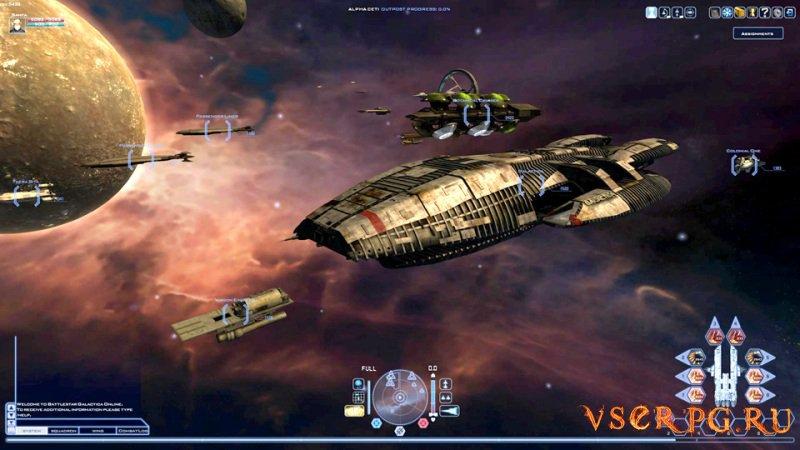Battlestar Galactica Online screen 1
