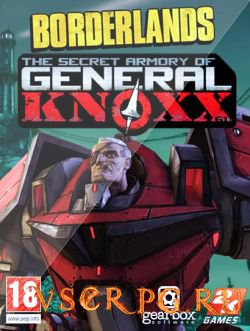 Постер игры Borderlands: The Secret Armory of General Knoxx