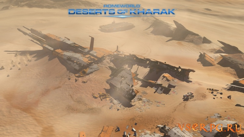 Homeworld: Deserts of Kharak screen 1