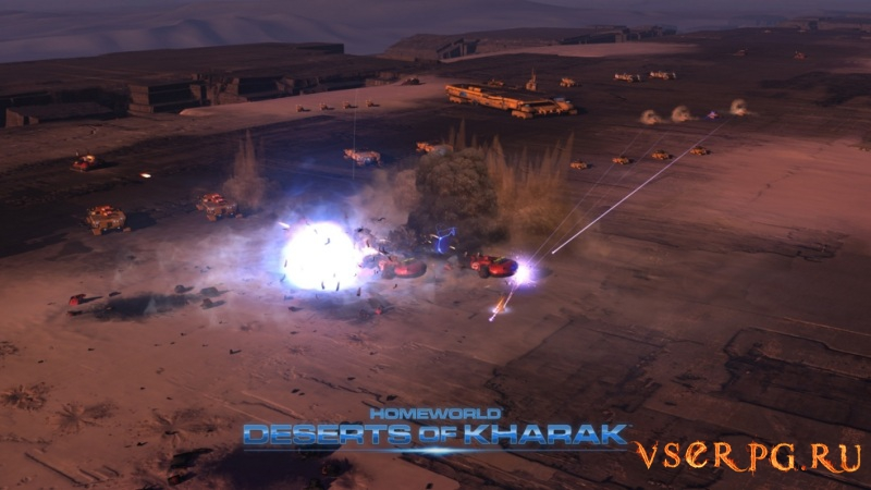 Homeworld: Deserts of Kharak screen 3