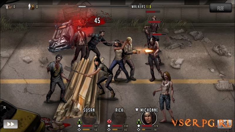 The Walking Dead: Road To Survival screen 3