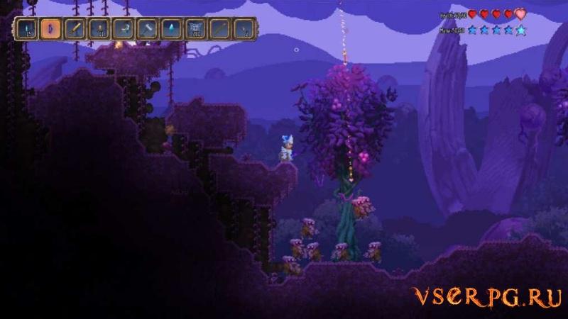 Terraria Otherworld screen 1