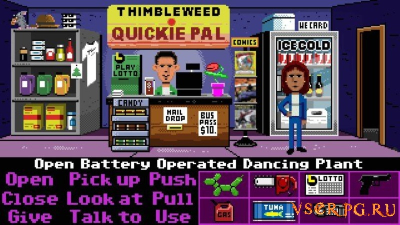 Thimbleweed Park screen 3