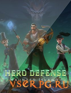 Постер игры Hero Defense: Haunted Island