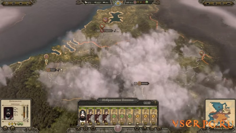 Total War: Attila - Age of Charlemagne Campaign screen 1