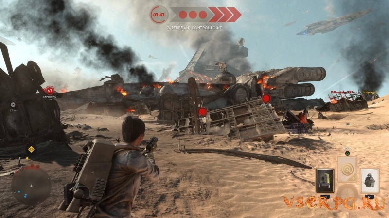 Star Wars Battlefront: Battle of Jakku screen 3