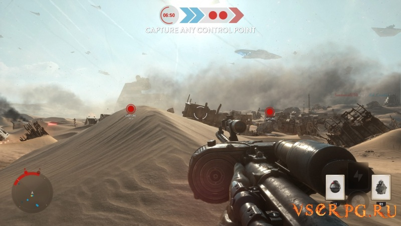 Star Wars Battlefront: Battle of Jakku screen 1