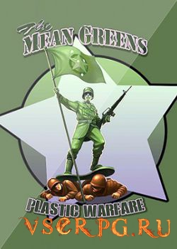 Постер игры The Mean Greens: Plastic Warfare