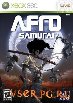 Постер Afro Samurai